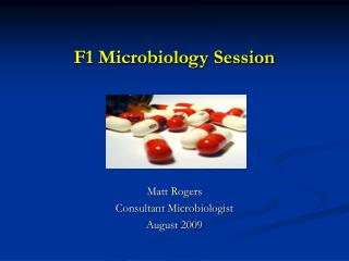 F1 Microbiology Session