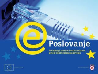 Suzana Vračević, voditeljica Projekta e-Poslovanje Ministarstvo gospodarstva, rada i poduzetništva