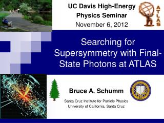 Searching for Supersymmetry with Final- State Photons at ATLAS