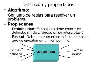 Definición y propiedades.