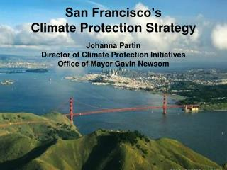 San Francisco�s  Climate Protection Strategy