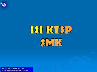 ISI KTSP SMK