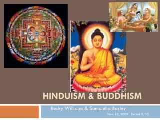 Hinduism & Buddhism