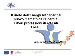 Gli Energy Manager nominati in Italia sono poco meno di 2.100:
