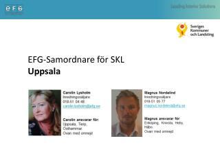 EFG-Samordnare för SKL    Uppsala