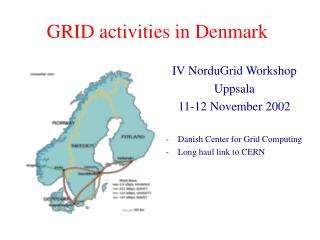 GRID  activities  in Denmark