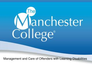 Management and Care of Offenders with Learning Disabilities