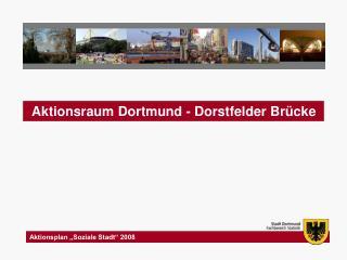 "Aktionsplan ""Soziale Stadt"" 2008"