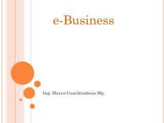 Ing . Marco  Guachimboza  Mg.