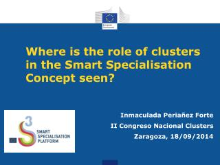 Where  is the role of clusters in the Smart Specialisation Concept seen ?