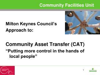 Community Facilities Unit