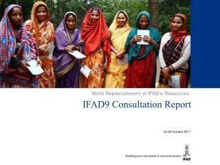IFAD9 Consultation Report