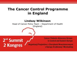 The Cancer Control Programme in England