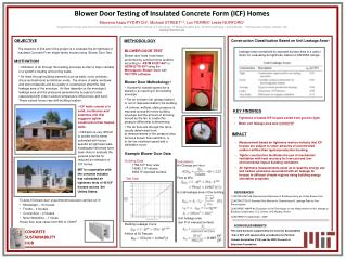 Blower Door Testing of Insulated Concrete Form (ICF) Homes