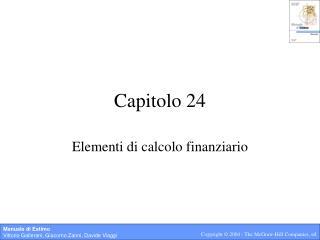 Capitolo 24