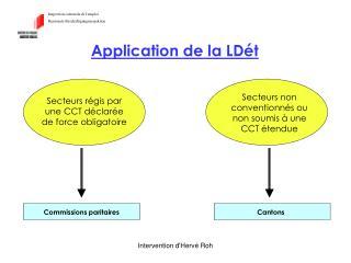 Inspection cantonale de l'emploi Kantonale Beschäftigungsinspektion