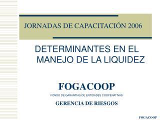 JORNADAS DE CAPACITACIÓN 2006