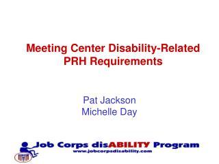 Pat Jackson  Michelle Day