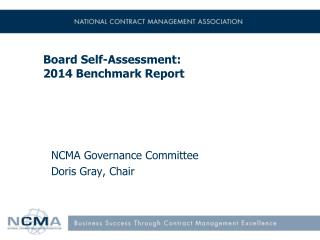 Board Self-Assessment: 2014 Benchmark Report