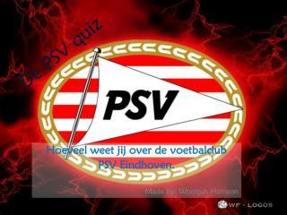 De PSV quiz