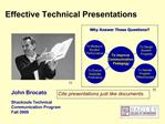 Effective Technical Presentations
