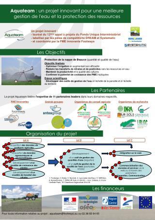Aquateam  : un projet innovant pour une meilleure gestion de l'eau et la protection des ressources