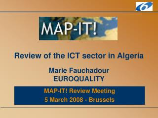 Review of the ICT sector in Algeria