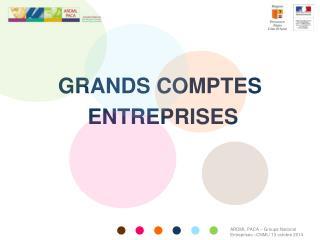 GRANDS COMPTES  ENTREPRISES