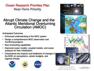 Ocean Research Priorities Plan Near-Term Priority