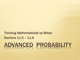 Advanced  probability