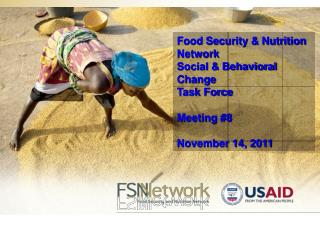 Food Security & Nutrition Network Social & Behavioral Change  Task Force Meeting #8