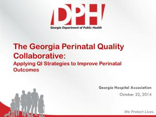 Georgia Hospital Association October 22, 2014