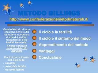 METODO BILLINGS confederazionemetodinaturali.it/