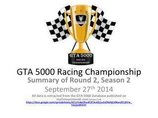 GTA 5000 Racing Championship