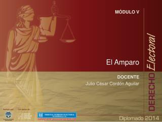 MÓDULO V El Amparo DOCENTE Julio César Cordón Aguilar