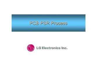 PCB PSR Process