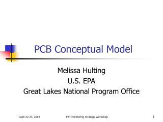 PCB Conceptual Model