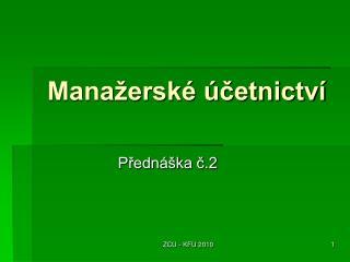 Mana�ersk� �?etnictv�