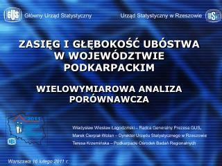 Urzad Statystyczny w Rzeszowie