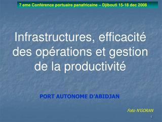 7 eme Conf rence portuaire panafricaine   Djibouti 15-18 dec 2008