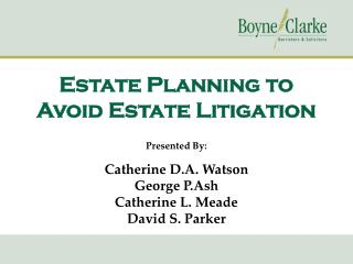 Estate Planning to Avoid Estate Litigation
