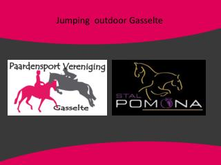 Jumping  outdoor Gasselte