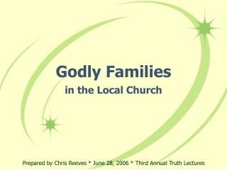 Godly Families