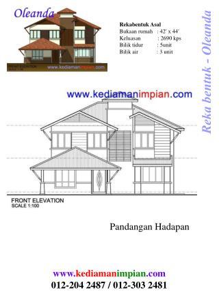 Reka bentuk - Oleanda