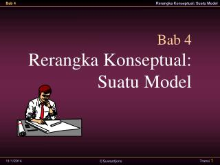 Bab 4 Rerangka Konseptual: Suatu Model