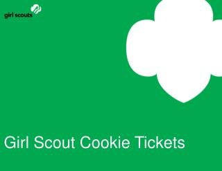 Girl Scout Cookie Tickets