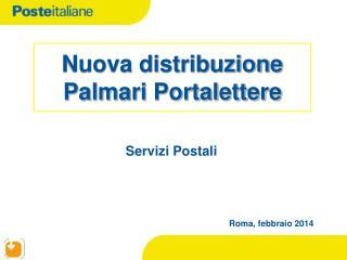 Nuova distribuzione Palmari  Portalettere