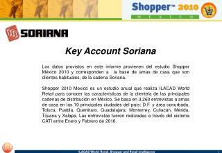Key Account Soriana