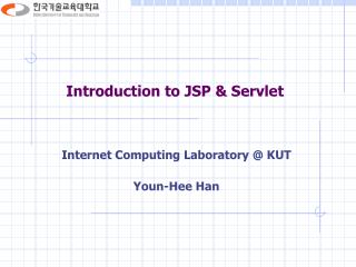 Introduction to JSP & Servlet