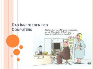 Das Innenleben des Computers